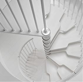 Schody spiralne Genius